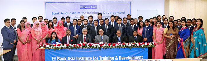 The Participants of 53rd Foundation Training Course are awarded the certificates