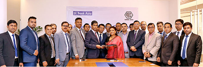 Bank Asia and ABC Real Estates Ltd. signed an Memorandum of Understanding (MoU)
